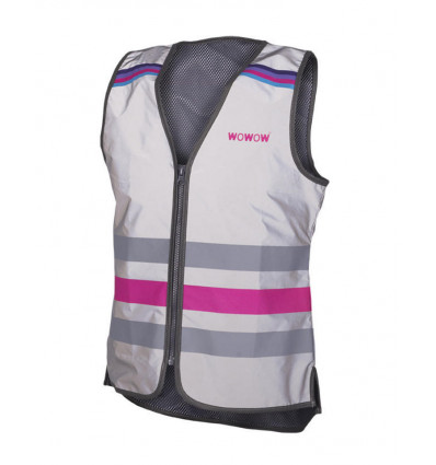 WOWOW Lucy - Fluo vest full reflect - XL