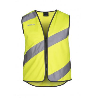 WOWOW Roadie - Fluo vest full reflect-XL