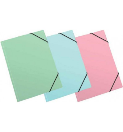 Elastomap pastel A4 - ass.