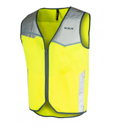 WOWOW Montreal - Fluo vest man geel - L