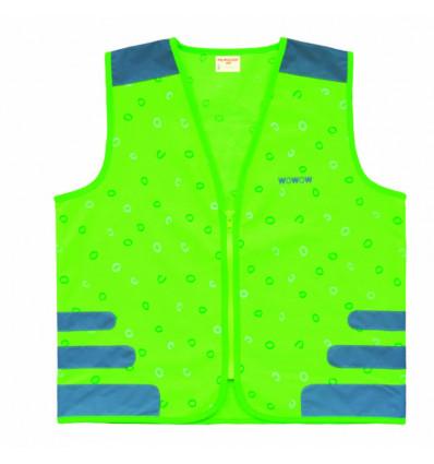 WOWOW Nutty - Fluo vest groen - XS